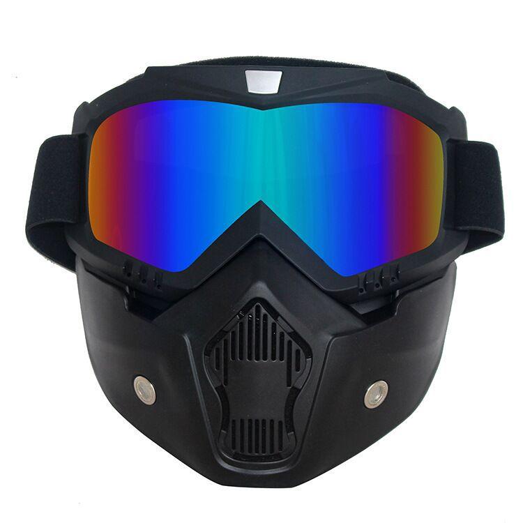摩托车风镜 越野面罩风镜护目镜 摩托车头盔风镜面罩,防风眼镜