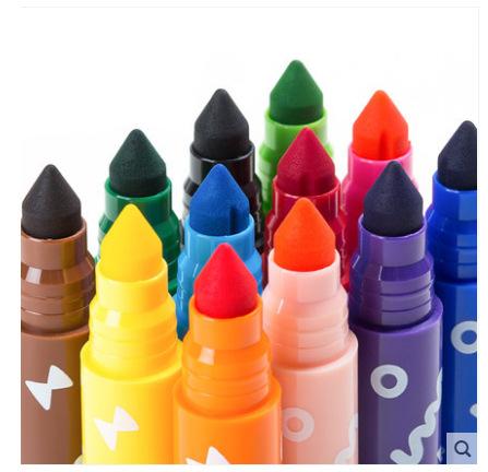 若态若小贝24色水彩笔创意儿童礼物学生早教画画笔定制套装可水洗
