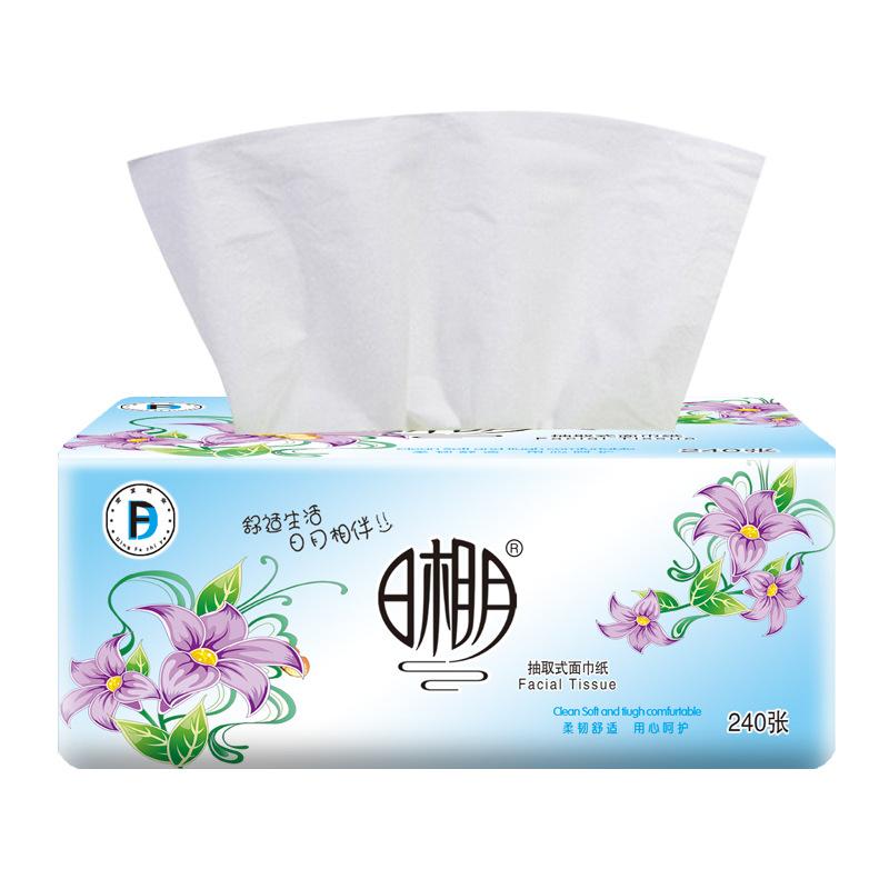 原生木浆抽纸家用卫生纸餐巾纸纸抽家庭装纸巾