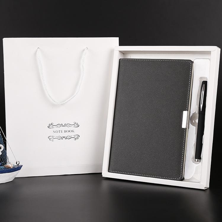 笔记本办公用品笔记本套装 仿皮革PU皮面文具记事本