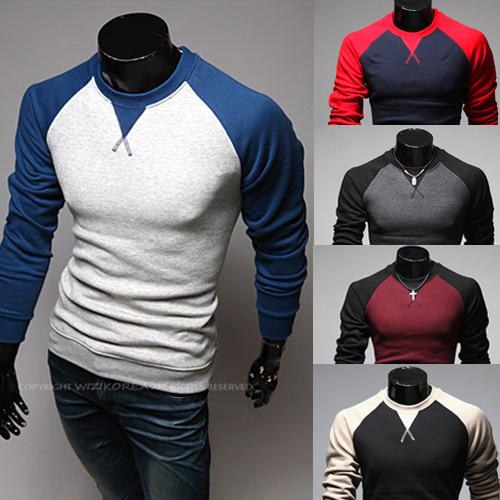 秋冬新款 ebay爆款 欧美长袖T恤 热卖NY刺绣男装精品